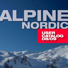 Alpine/Nordic User Catalog 08/09