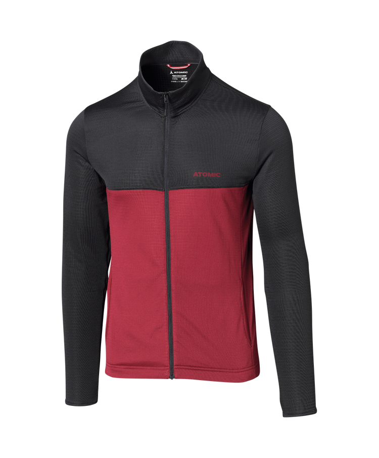 ALPS JACKET Anthracite/Rio Red