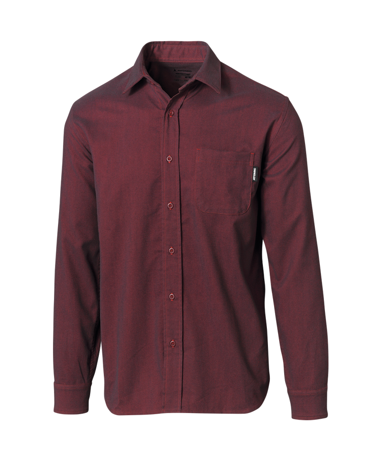 ATOMIC FLANNEL SHIRT Rio Red