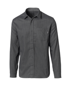 ATOMIC FLANNEL SHIRT Dark Grey