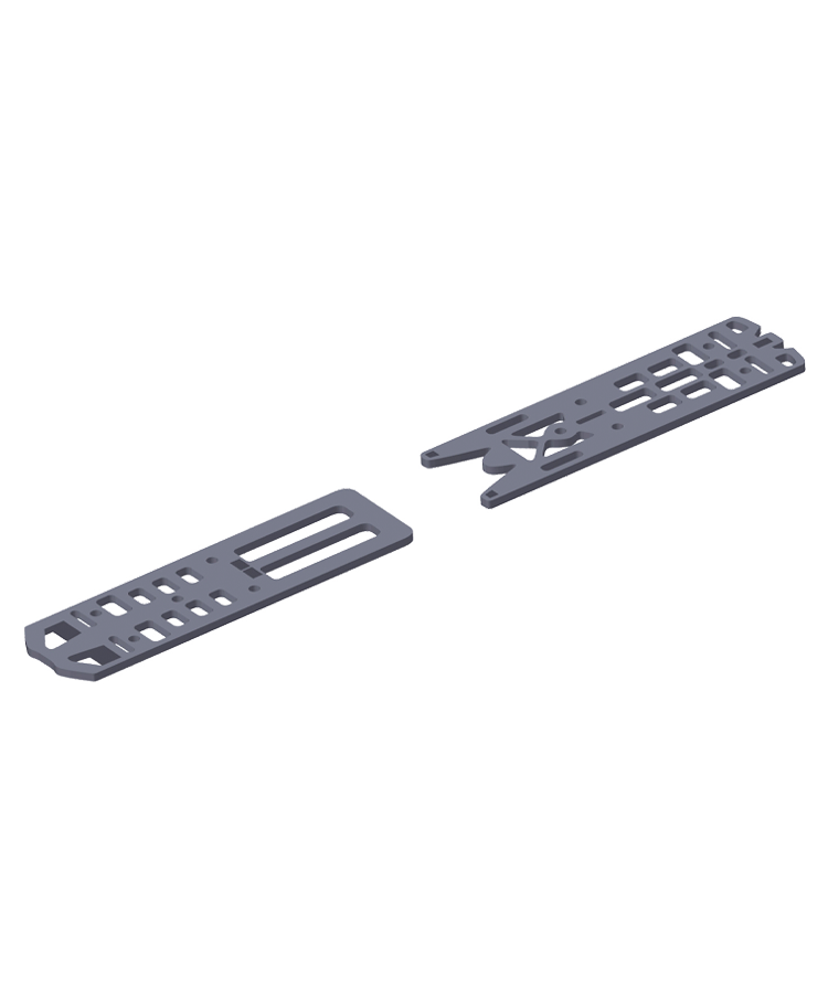 Distance Plate Rear 3mm X19VAR-X12VAR