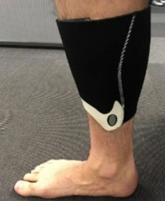PERFORMANCE LEG PAD Black